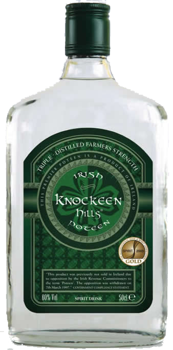 Irish Poteen 60% Vol.
