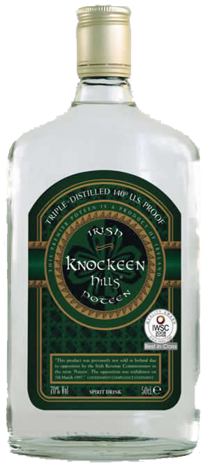 Irish Poteen 70% Vol.